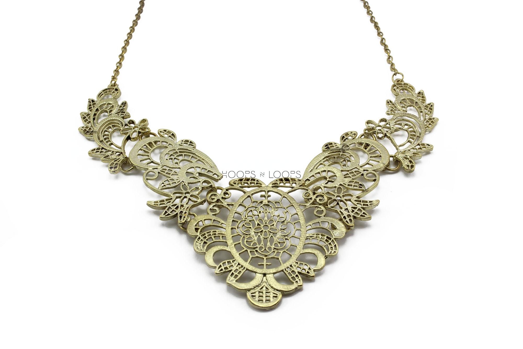 regal princess necklace hoops n loops
